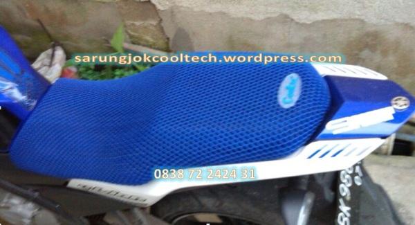 Sarung Jok CoolTech Biru Vixion - NVL