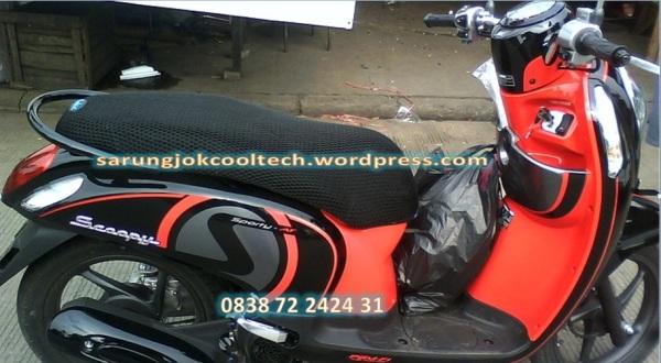 Sarung Cover Jok Anti Panas CoolTech Honda Scoopy Fi